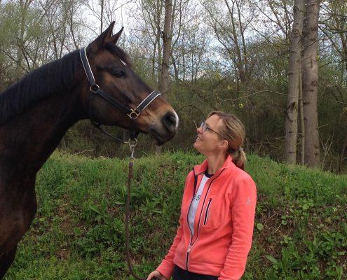Okka Heuckeroth mit Annie