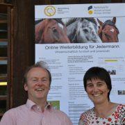 Prof. Dr. Dirk Winter und Dr. Birgit Jostes