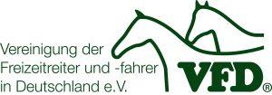 Vereinigung der Freizeitreiter und -fahrer in Deutschland e.V. Logo