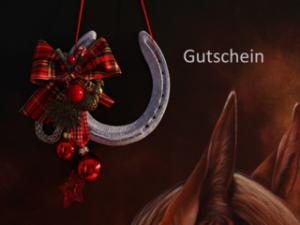 Weihnachtsgutschein der Weiterbildung Pferd